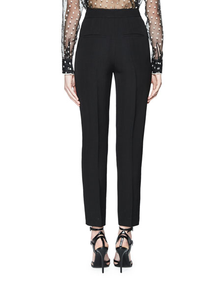 Tuigi Tailored Slim-Leg Pants, Black