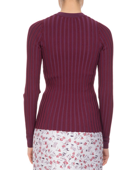 Regan Wide-Rib Sweater
