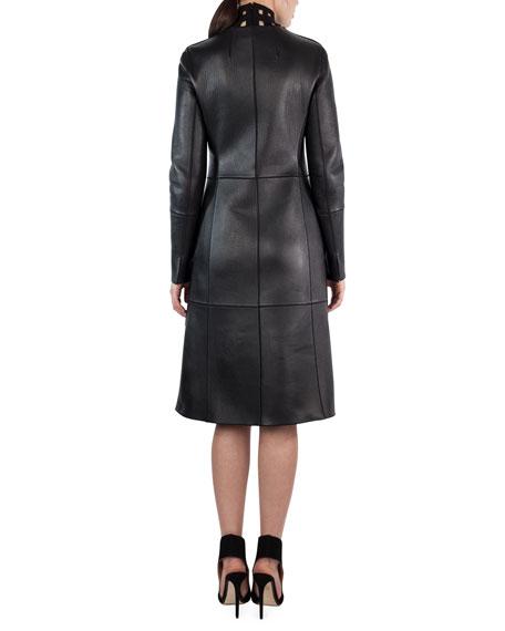 Marius Napa Leather Jacket, Black