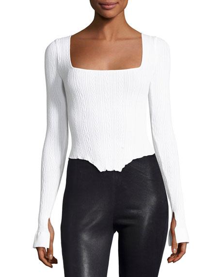 Kira Knit Corset Sweater