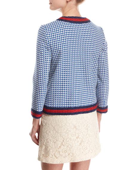 Wool Jacket with Web