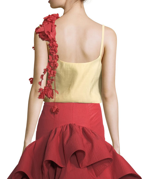 Camisole w/Removable Flower Garland