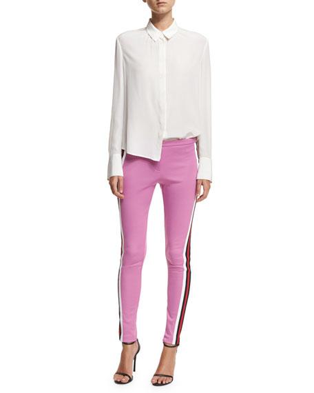 a4f2dbac5e8 Gucci Jersey Stirrup Leggings with Sylvie Web