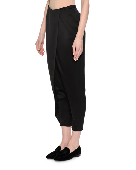 Silk Satin Harem Pants