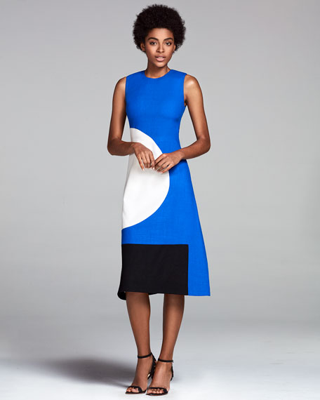 The Everett Circle & Square Dress