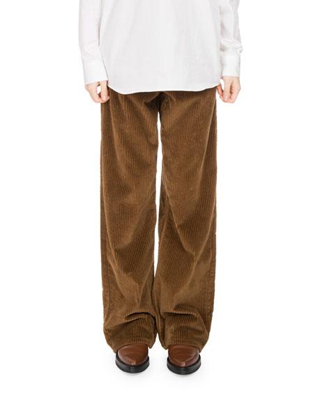Picabo Corduroy Wide-Leg Pants