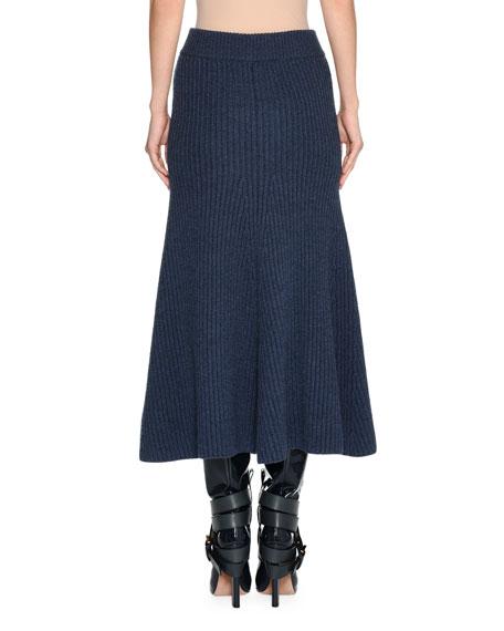 Chunky Knit A-Line Skirt