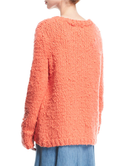 Chunky-Knit Cashmere Sweater