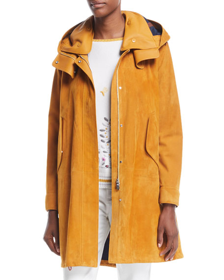 Richie Techno Suede Jacket