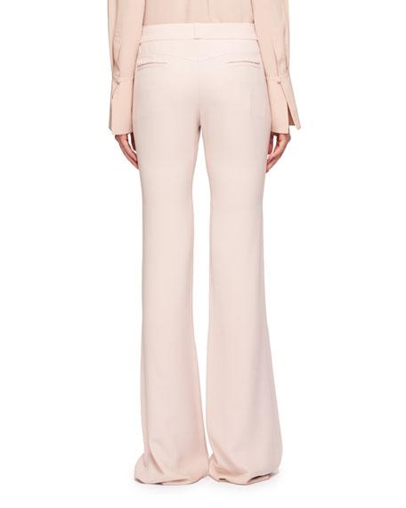 High-Waist Floor-Length Pants