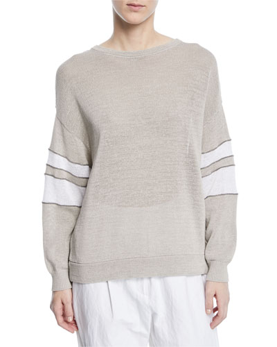 Arm Knitting Pullover : Brunello cucinelli collection sweaters handbags at