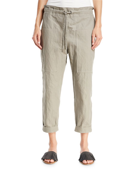 Drawstring Utility Pants