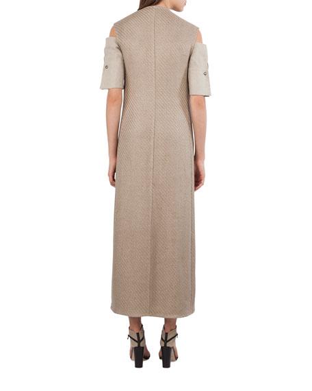 Long Tweed Gilet