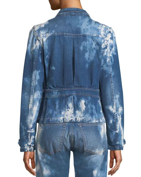 Isabele Coastal Denim Safari-Style Jacket