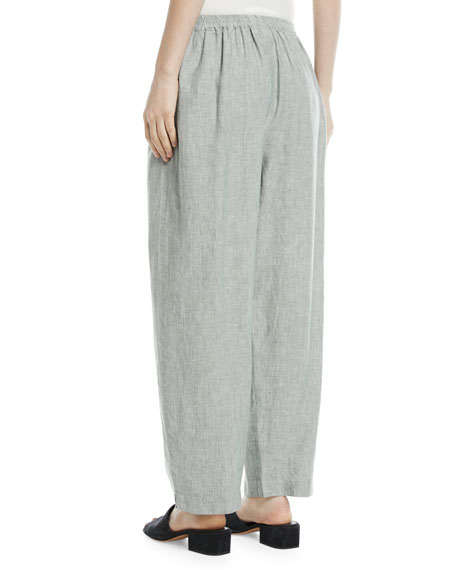 Side-Slit Japanese Trousers