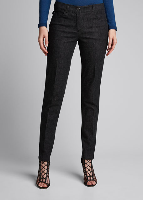 Slim Stretch Denim Pants