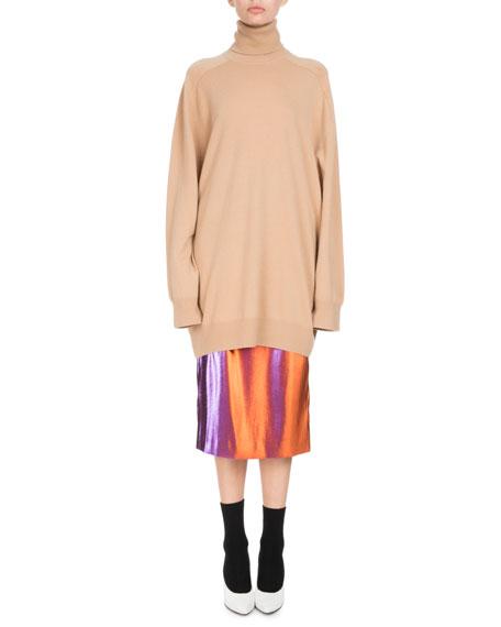 Timael Oversized Cashmere Turtleneck Sweater