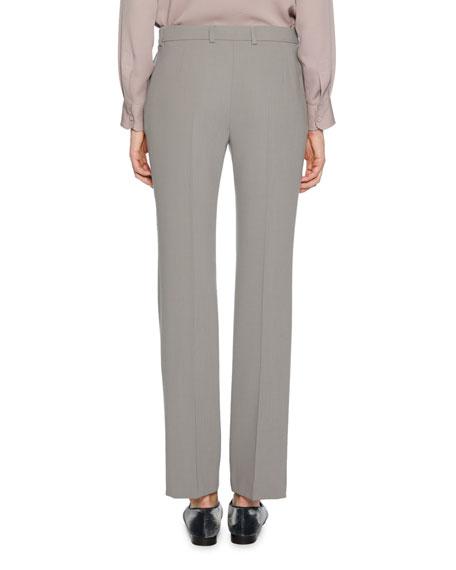 Mid-Rise Classic Virgin Wool Pants