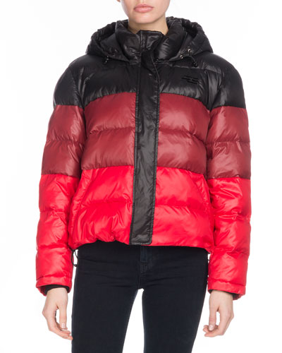 PSWL Colorblock Puffer Jacket