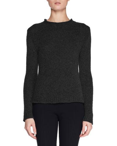 Droi Crewneck Long-Sleeve Cashmere-Blend Sweater