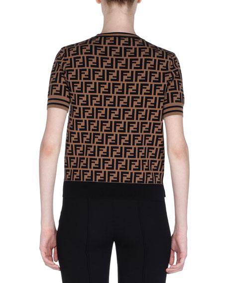 Crewneck Short-Sleeve FF Logo T-Shirt