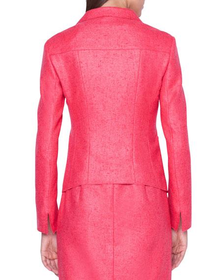 Cashmere/Silk Panama Weave Jacket