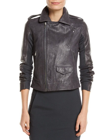 Classic Stooges Goat Leather Moto Jacket