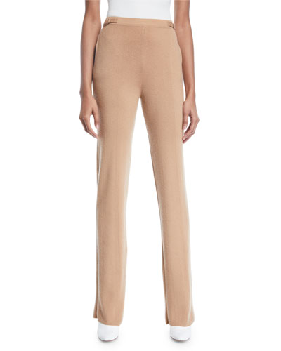 Diego Thin Cashmere Pull-On Pants