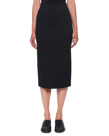 Image 1 of 1: Adiale Fitted Midi Pencil Skirt