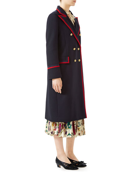 Military Wool-Cloth Coat