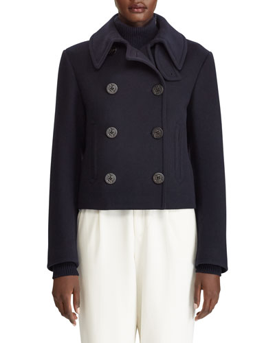Aiden Double-Breasted Wool Cashmere Coat