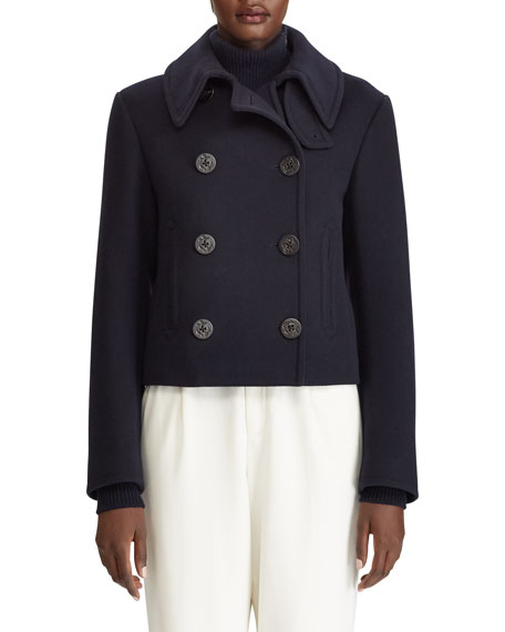 Ralph Lauren Collection Aiden Double-Breasted Wool Cashmere Coat