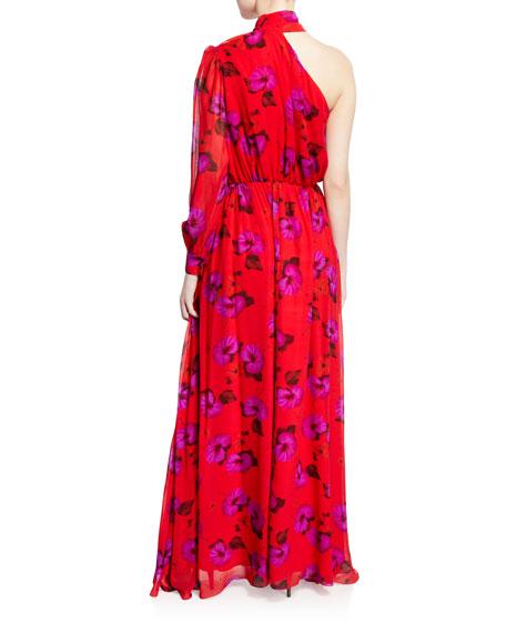 Isabeau Silk Georgette Dress