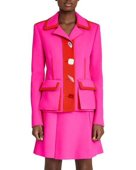 Jewel Button Jacket