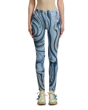 Off-White Psychedelic Skinny Jeans