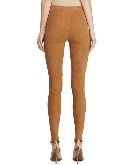 Eleanora Suede Skinny Pants