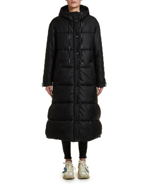 Off-White Long Puffer Jacket
