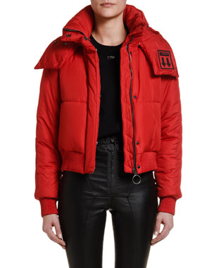 Off-White Hooded Puffer Jacket