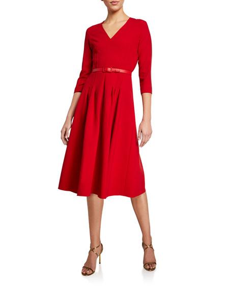 Raeana 3/4-Sleeve Dress