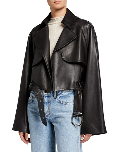 Krista Leather Moto Jacket