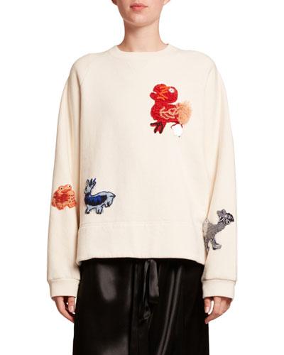 Dodo Embroidered Sweatshirt
