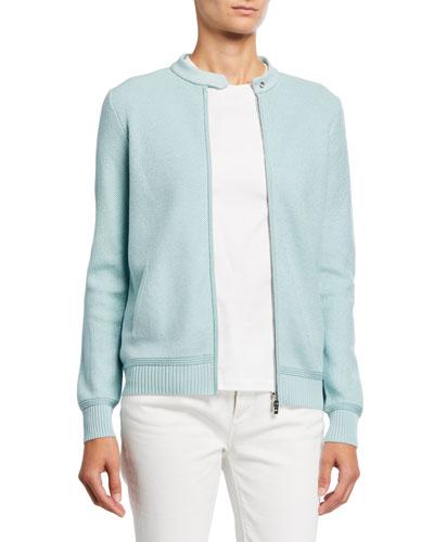 Beausoilel Silk-Cotton Sweater