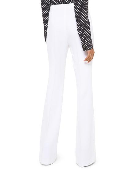 Side-Zip Flare Pants