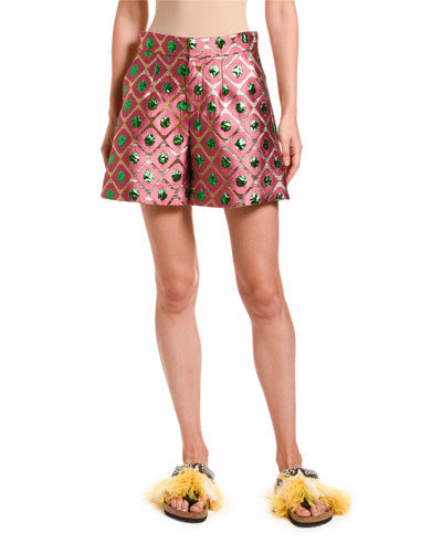 Good Butt Jacquard Shorts
