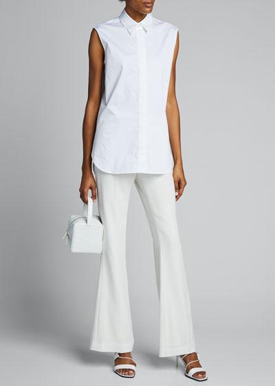 Fania Sleeveless Cotton Shirt