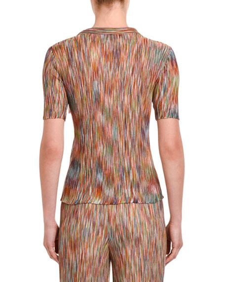 Space-Dye Short-Sleeve Shirt
