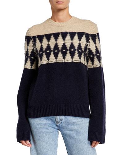 Romme Cashmere Intarsia Sweater