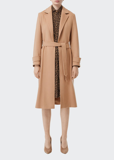 Sherringham Cashmere Wrap Coat