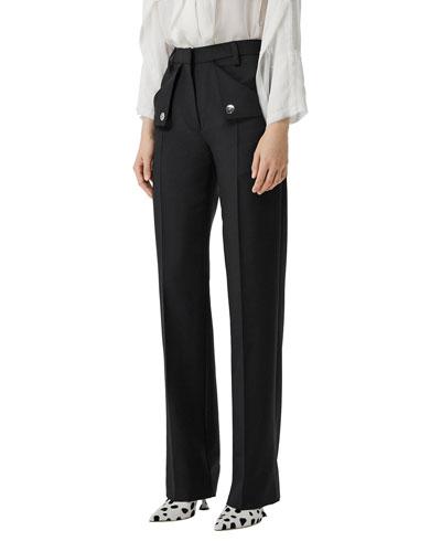 Zohra Wool Trousers