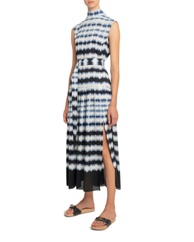 Day & Night Tie-Dyed Georgette Dress